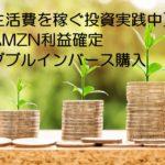 生活費を稼ぐ投資を実践中、利益確定と新規購入で対応しました。